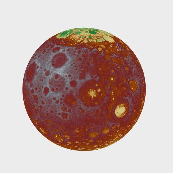 Mars Planet 3D Model Game ready .max .obj .3ds .fbx ...