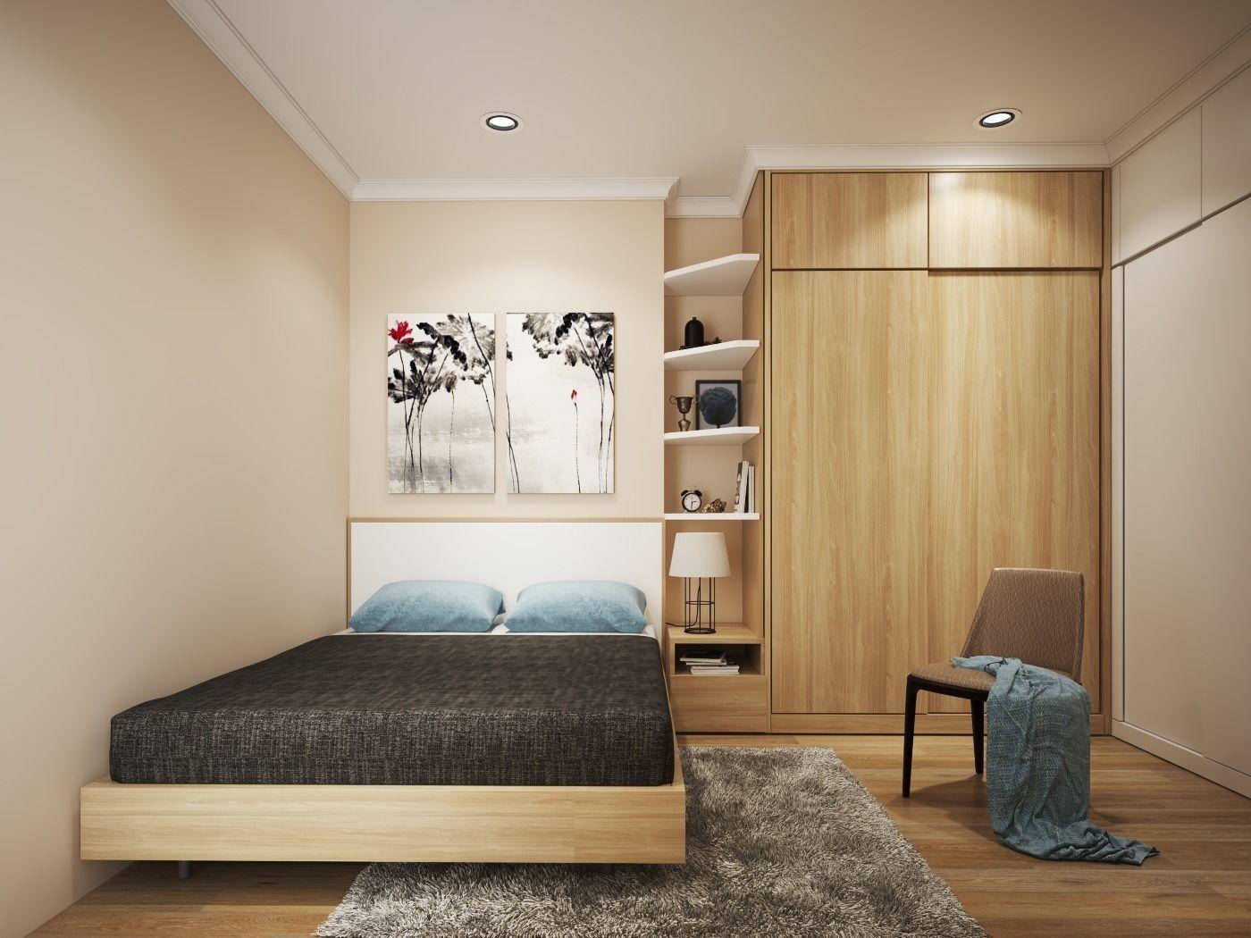 Simple Bedroom V 3D   CGTrader on New Model Bedroom  id=62238