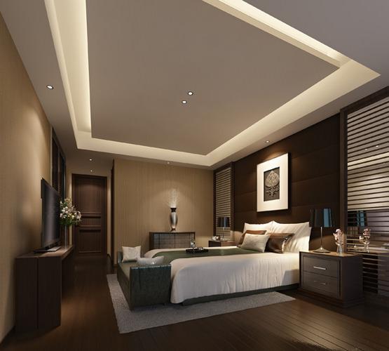 Hotel bedroom 3D model   CGTrader on New Model Bedroom  id=41062