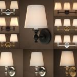 Lamp Brackets By Restoration Hardware 3d Cgtrader