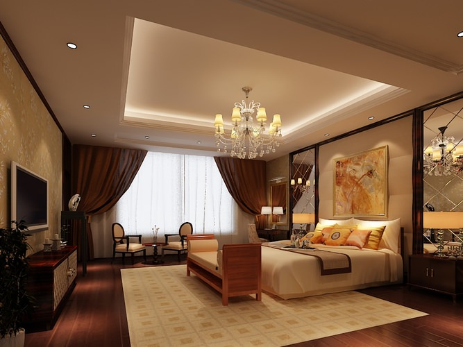 3D Bedroom or Hotel Room Collection   CGTrader on New Model Bedroom  id=89772