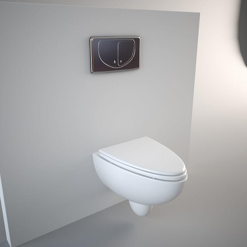 3D Nic Design Barca Toilet | CGTrader on Model Toilet Design  id=42877