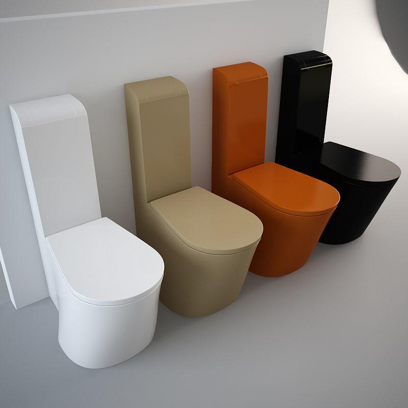 3D model Nic Design Pillow Toilet | CGTrader on Model Toilet Design  id=74962
