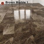 Brown Marble Tiles Pack 1 3d Model Cgtrader