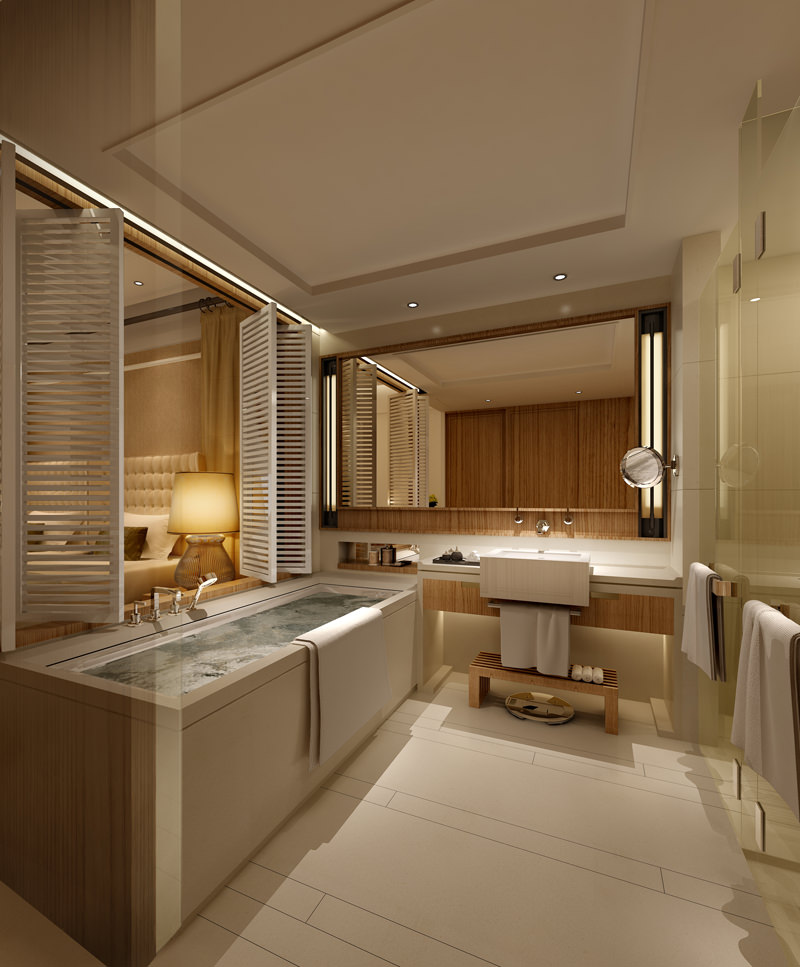 Collection Bedrooms and Bathrooms Collecti... 3D Model ... on Model Bathroom  id=19509
