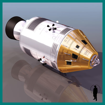 APOLLO NASA SPACECRAFT 3D Model .max - CGTrader.com