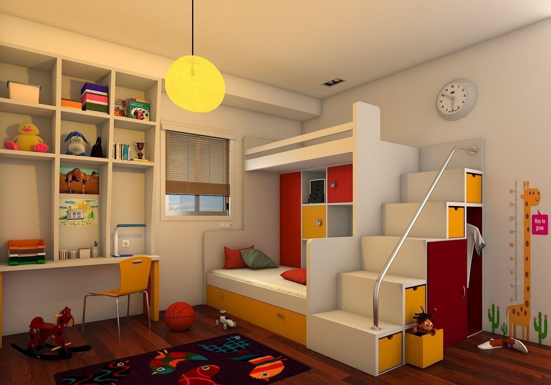 Kids BedRoom 3D | CGTrader on Bedroom Models  id=34905