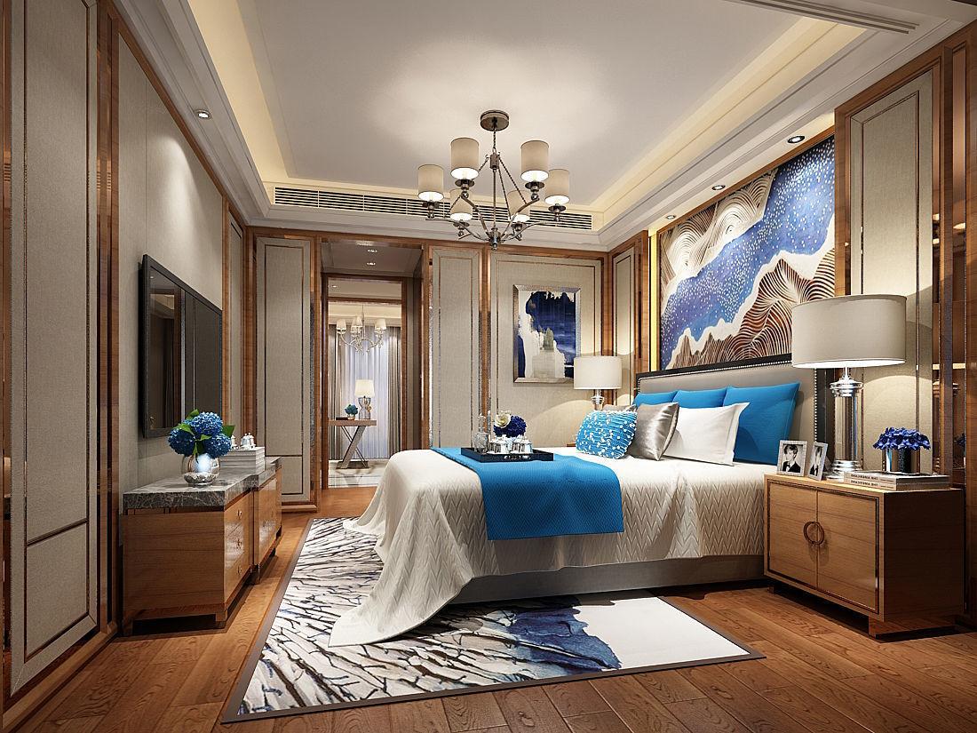 3D model Deluxe master bedroom design 64   CGTrader on New Model Bedroom Design  id=49541