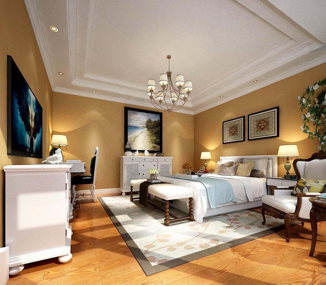 3D Deluxe master bedroom design 197   CGTrader on New Model Bedroom Design  id=66324