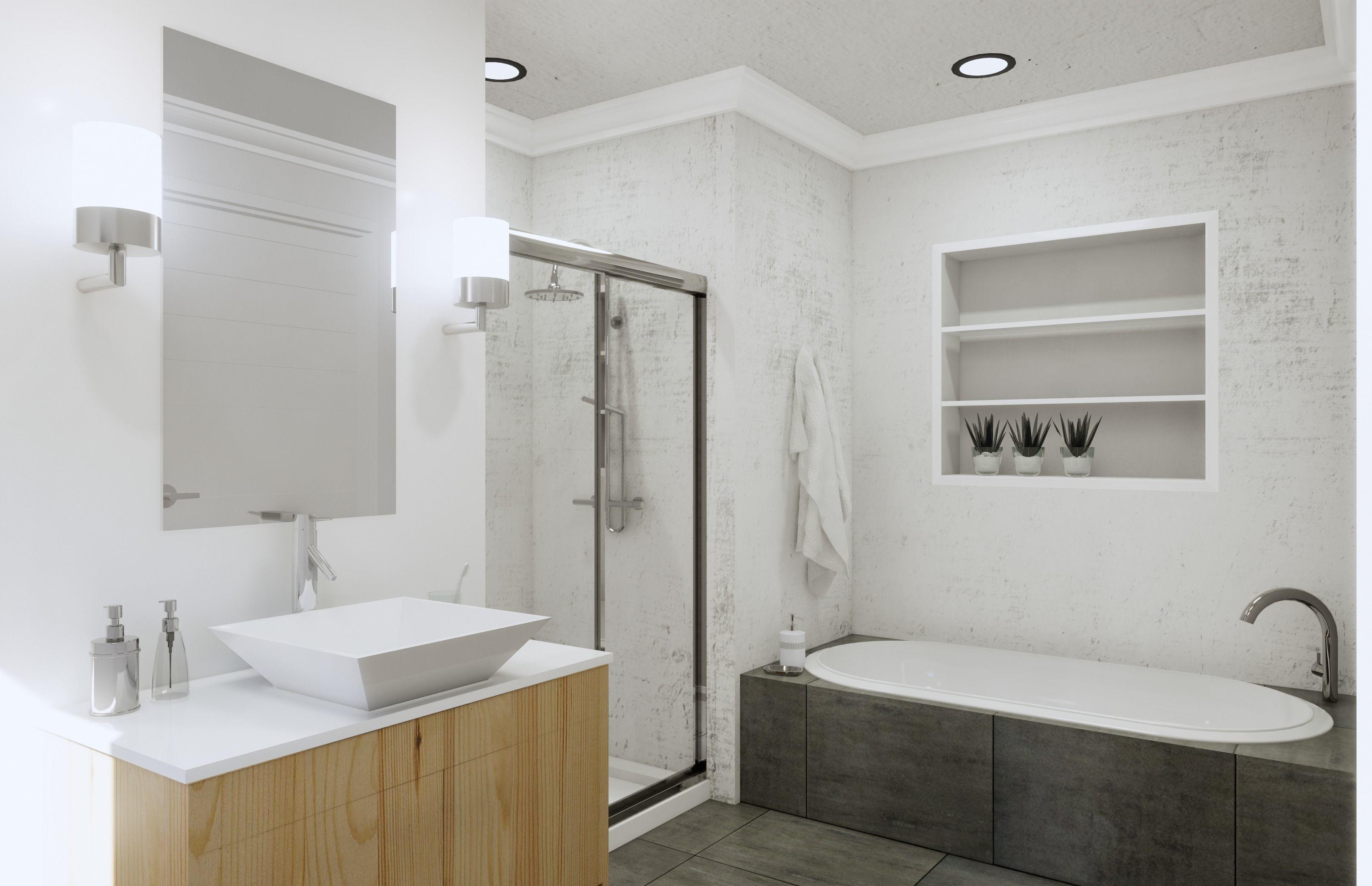 Bathroom Revit Model Scene low-poly   CGTrader on Bathroom Model  id=96175