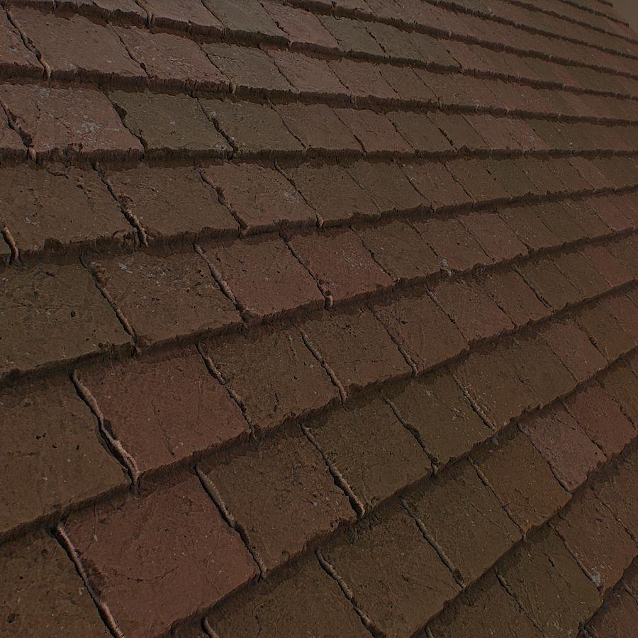 Ceramic roof tile 3D Model   CGTrader.com on Tile Models  id=89263