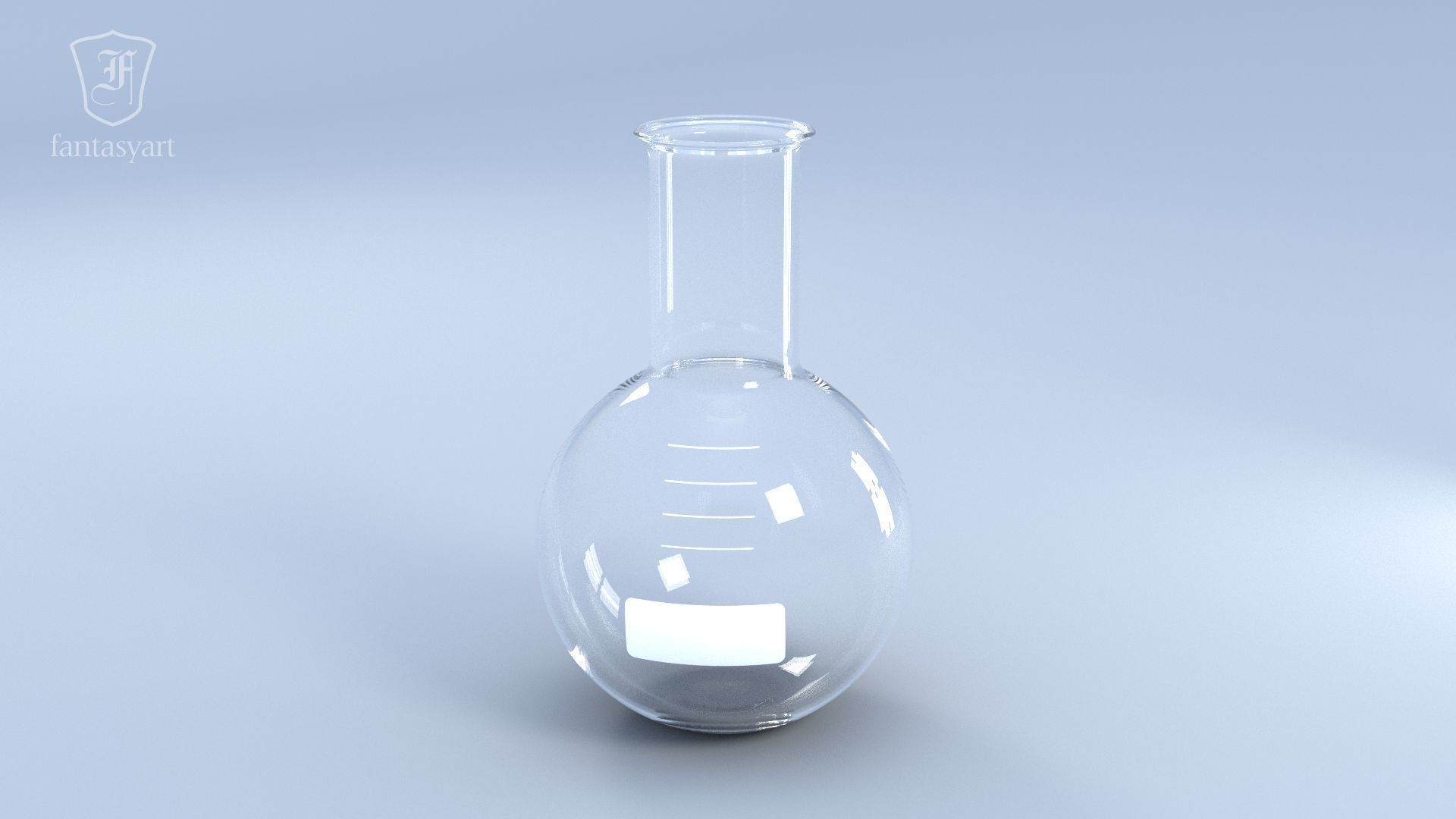 Chemical Laboratory Glassware Set 3d Model Obj Fbx