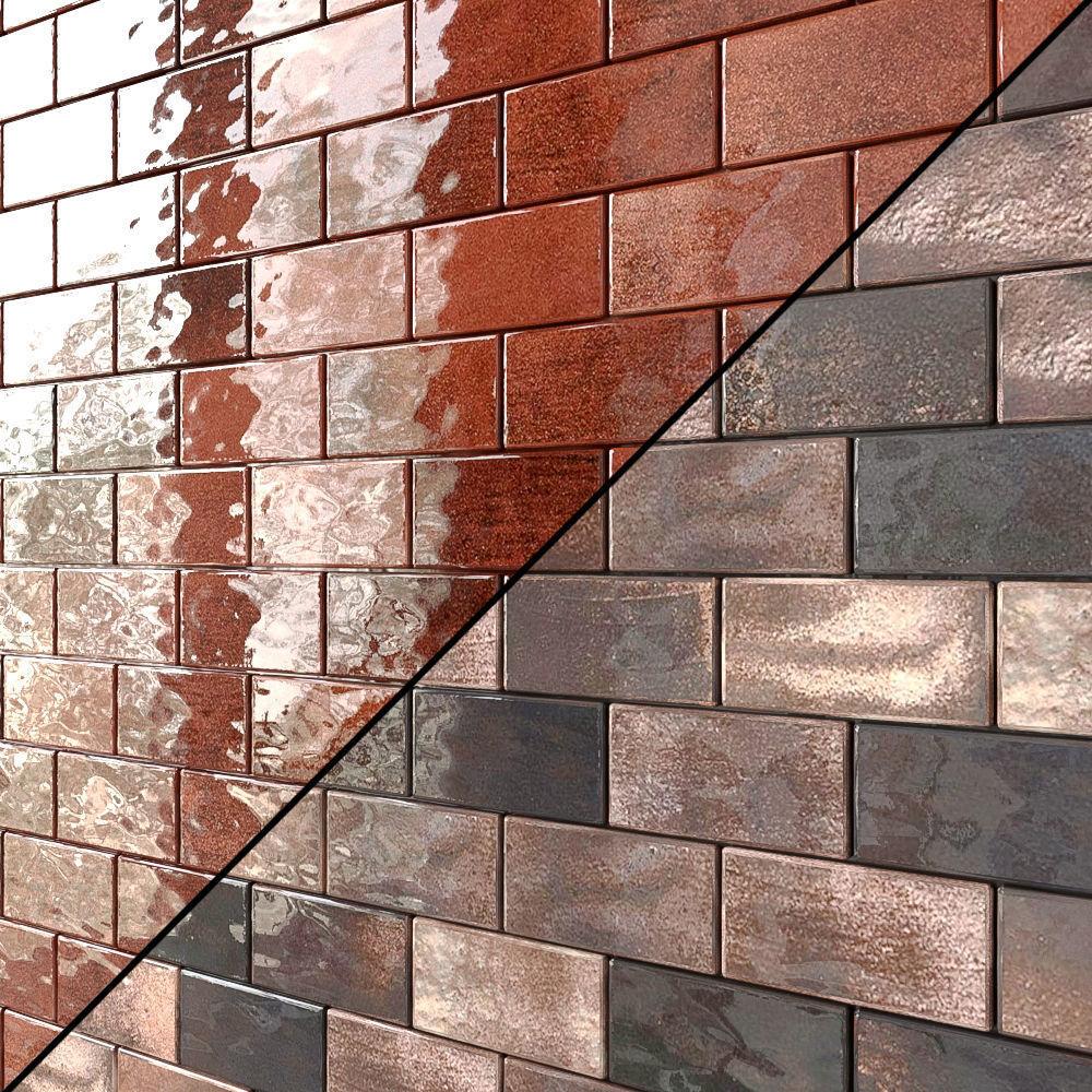 emery glazed ceramic tile 5 types 3d model