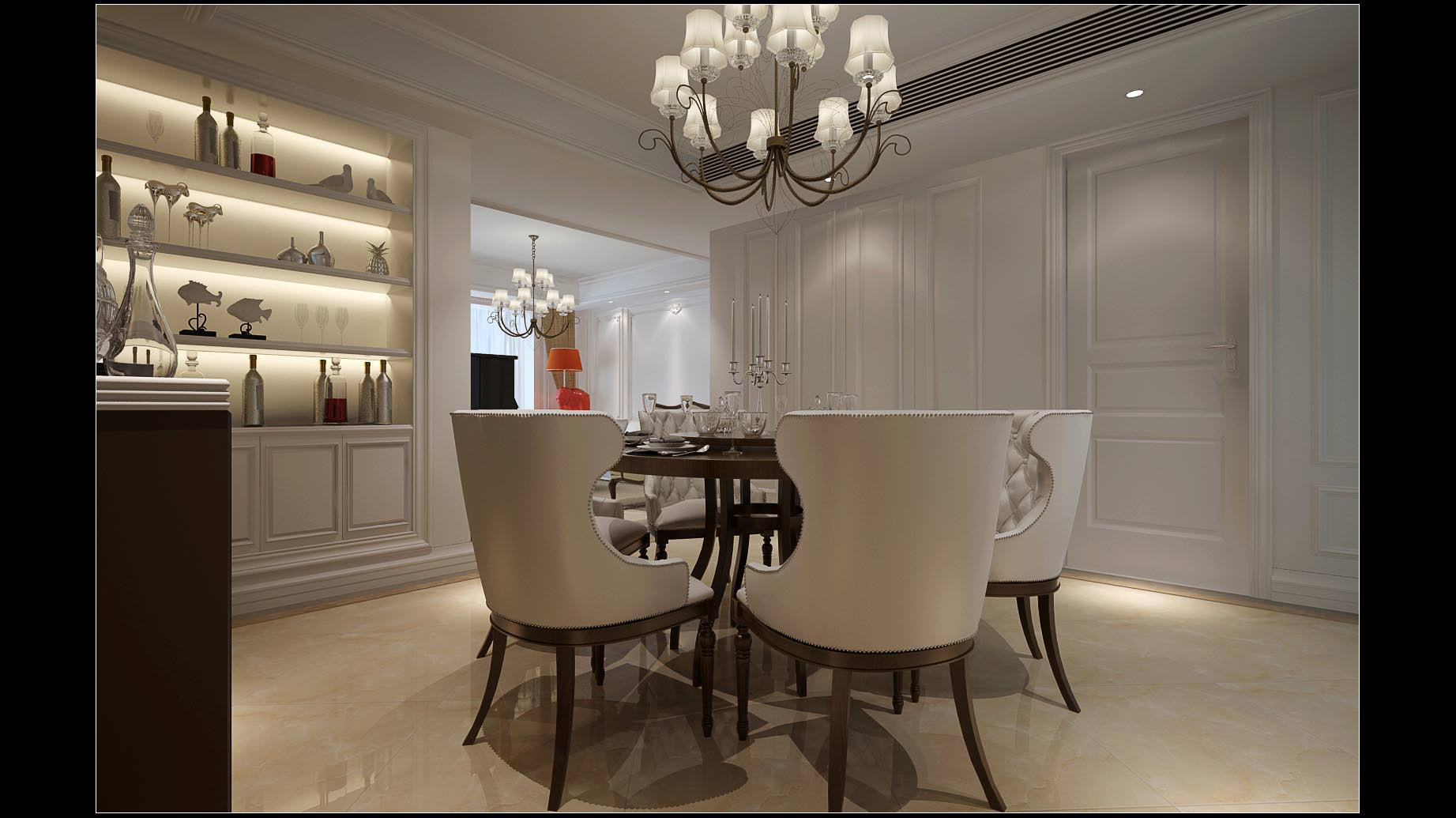 Comfortable Living And Dining Room In Brig... 3D Model ... on Comfortable Living  id=90616