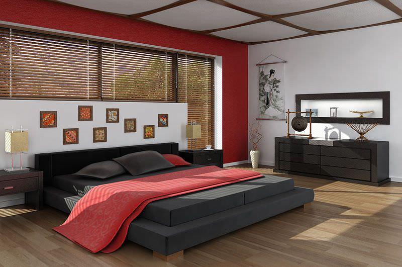 Asian Interior Design Bedroom 3D Model - CGTrader.com on New Model Bedroom Design  id=70915