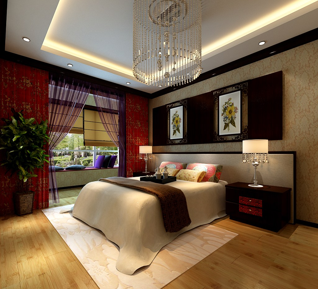 Collection Collection Modern Bedroom Fully... 3D Model MAX ... on New Model Bedroom Design  id=69750