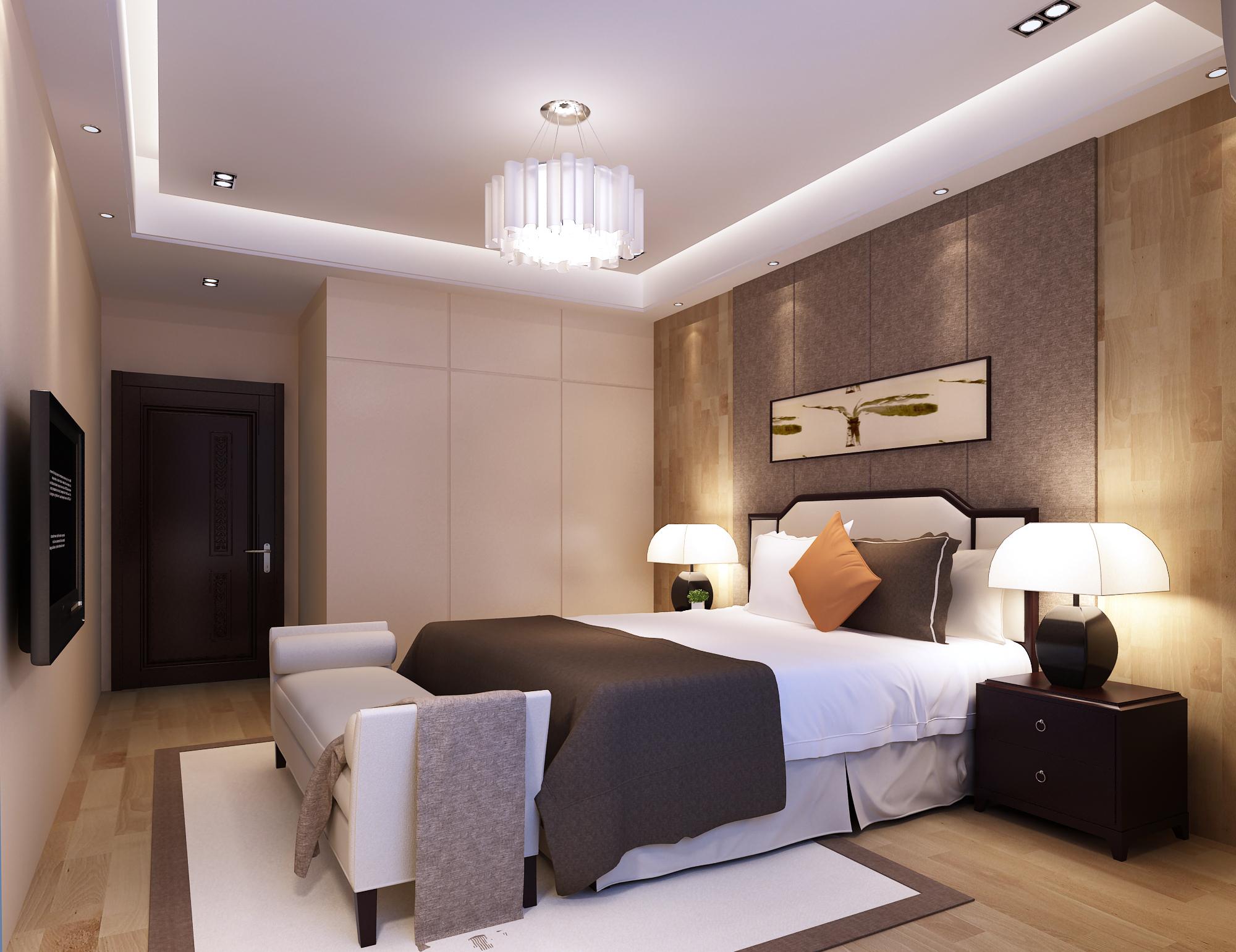 Modern Bedroom 3D Model MAX | CGTrader.com on Model Bedroom Interior Design  id=98699