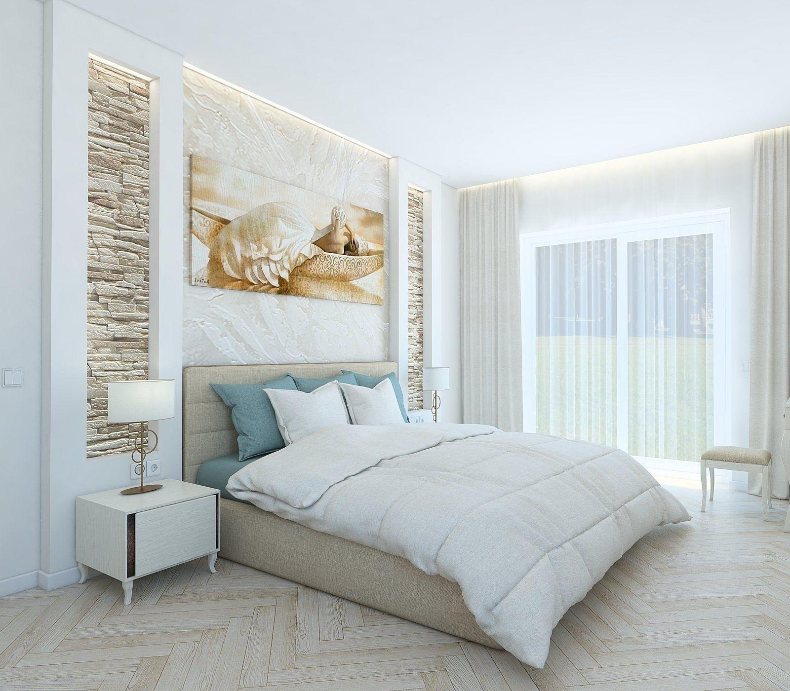 The cozy bedroom 3D   CGTrader on New Model Bedroom  id=74894