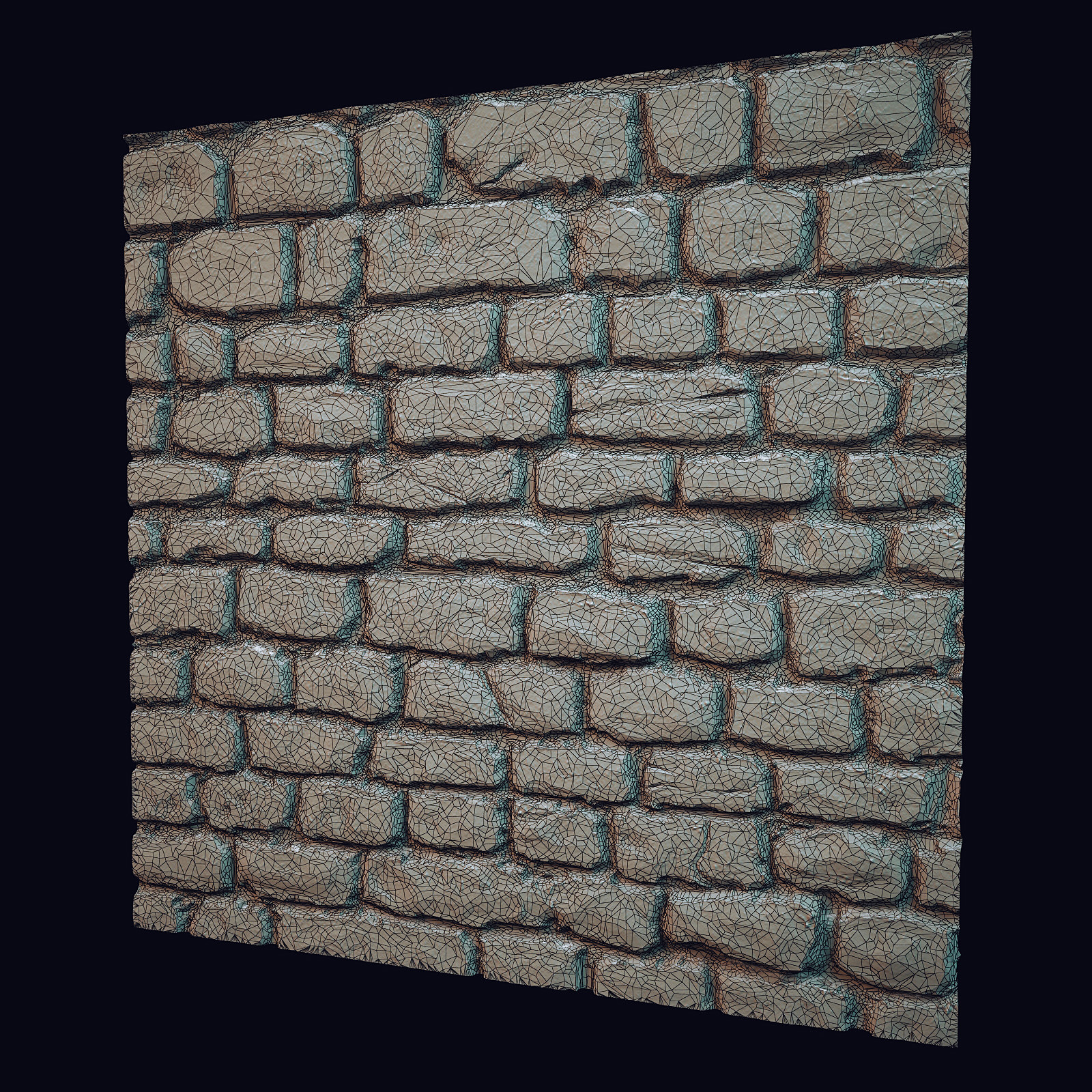 Brick wall tile 3D Model .max- CGTrader.com on Tile Models  id=70554