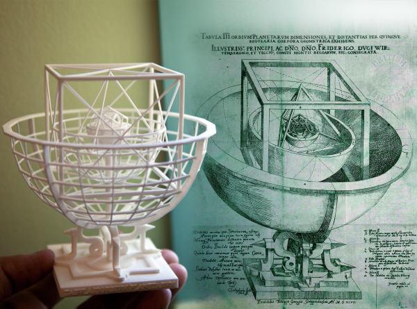 Kepler s Platonic Solids Model of the Sola... 3D Model 3D ...