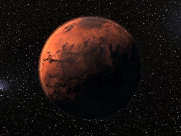 3D model Mars planet VR / AR / low-poly OBJ 3DS FBX C4D ...
