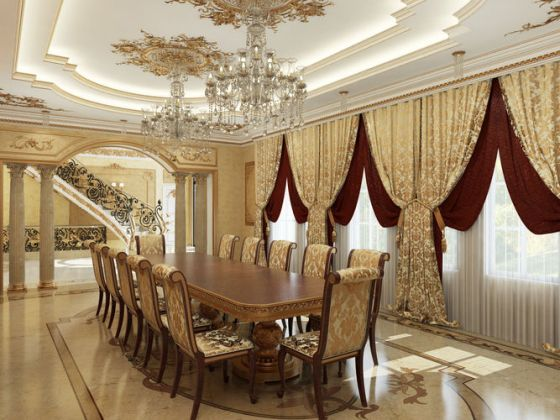 Interior classical mansion 3D   CGTrader     interior classical mansion 3d model max tga 5