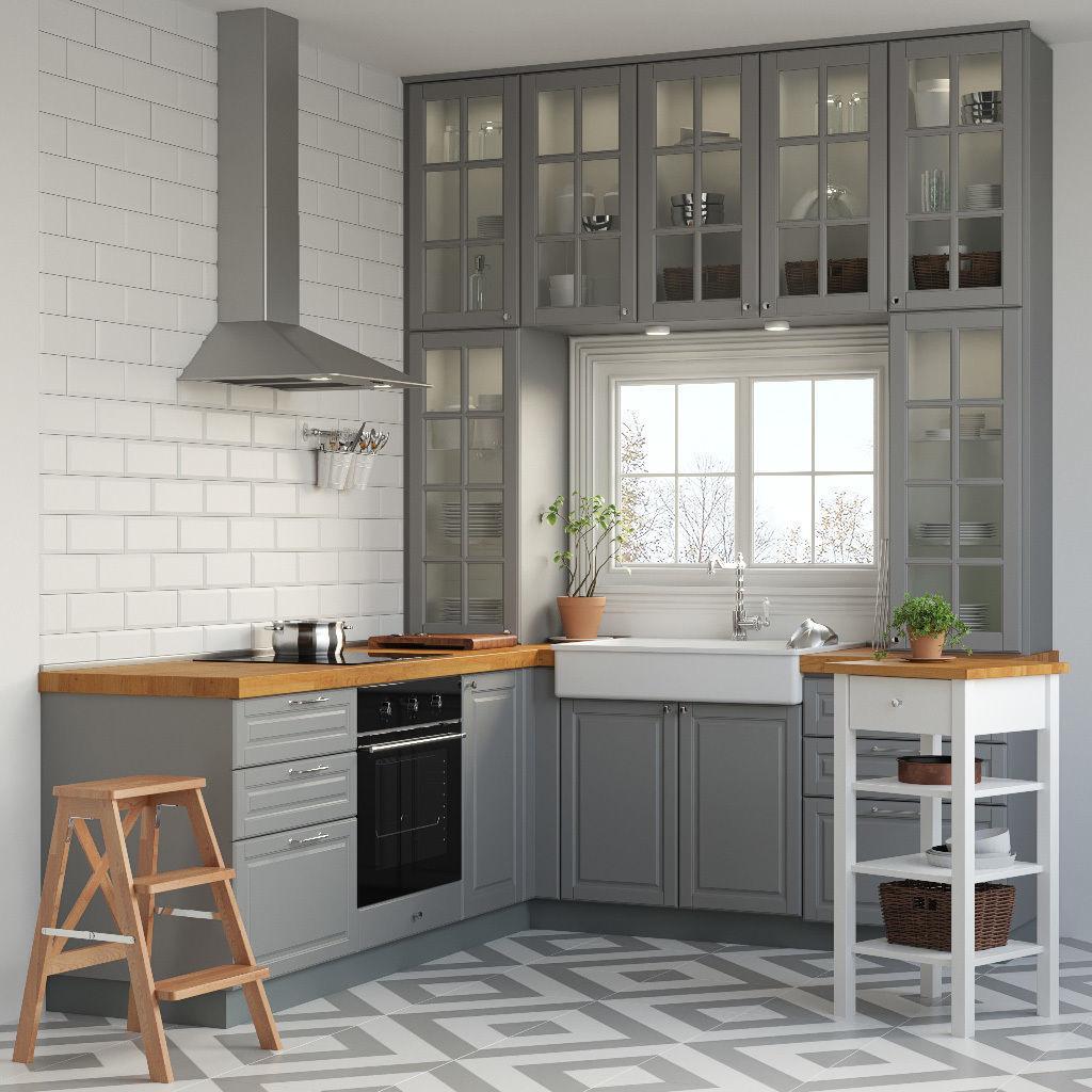 Kitchen IKEA METOD 3D | CGTrader on Model Kitchens  id=81156