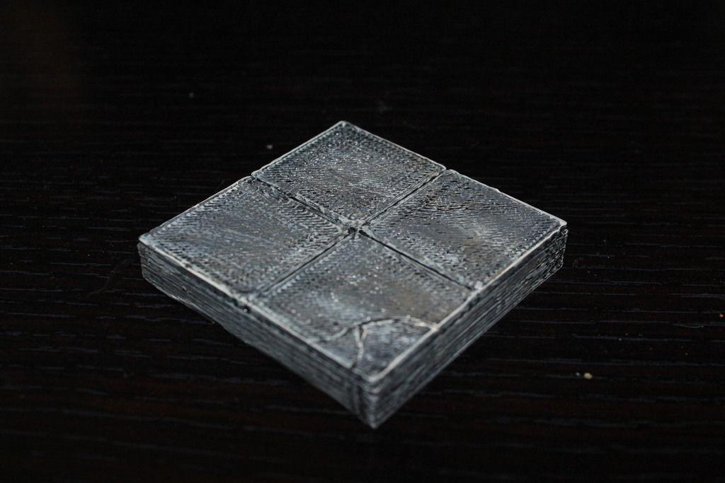 3D print model OpenForge Smooth Floor Tile   CGTrader on Tile Models  id=15289