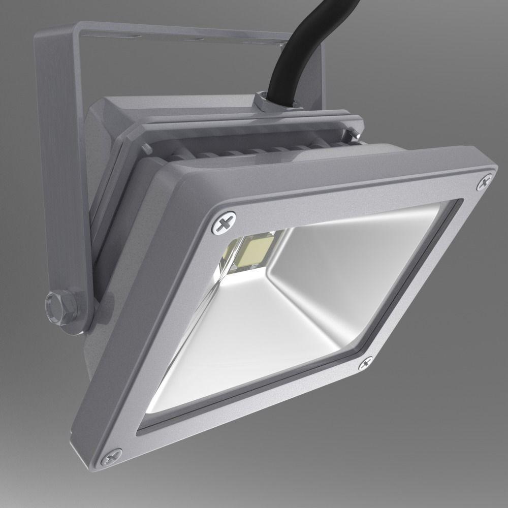 exterior led light 3d model