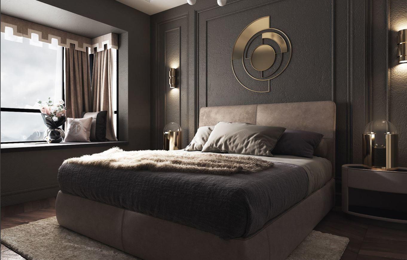 chair modern luxury bedroom 3D   CGTrader on New Model Bedroom Design  id=64756