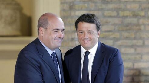 Tra Renzi e Zingaretti | Il Foglio