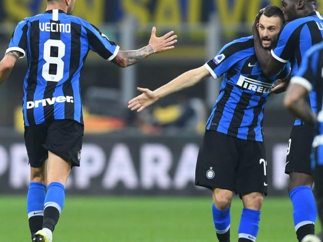 Serie A, Inter-Verona 2-1: Vecino and Barella sign the comeback