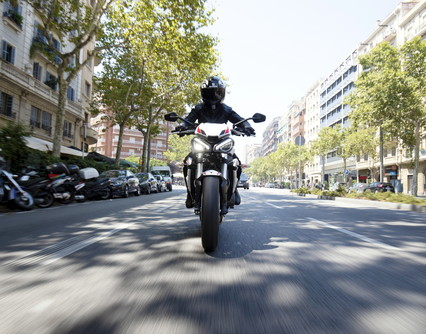 Street Triple S, the brand's first 2020 novelty