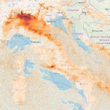 Coronavirus, in a month the smog on Northern Italy has decreased due to the restrictions
