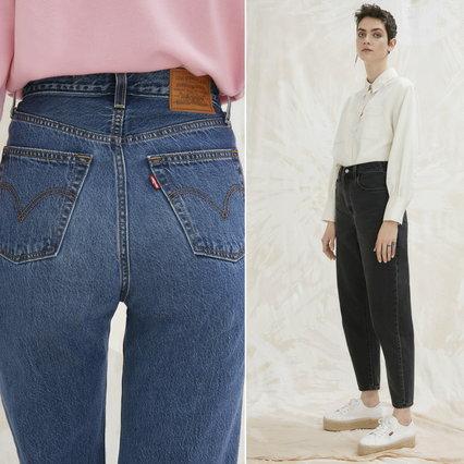 Moda, jeans 2021: a vita alta, con i risvolti e ispirati agli anni '60