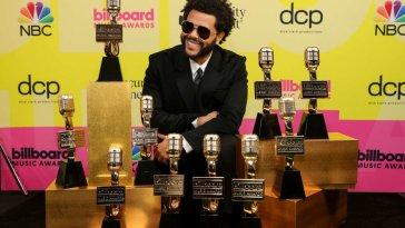 Billboard Music Awards 2021, trionfa The Weeknde Taylor Swift batte tutte
