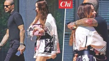 Fabrizio Corona abbracciato a Nina Moric… per il bene di Carlos