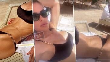 Ilary Blasi in bikini è uno schianto, ma Francesco Totti non c'è