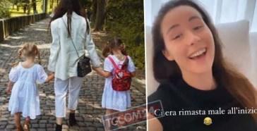 """Celeste racconta ad Aurora il primo giorno di scuola: """"Tutti dicevano: 'E' la figlia di Michelle Hunziker'"""""""