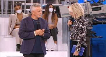 """Roberto Baggio tra gli ospiti speciali della prima puntata di """"Amici"""": """"Restate umili per realizzare i vostri sogni"""""""
