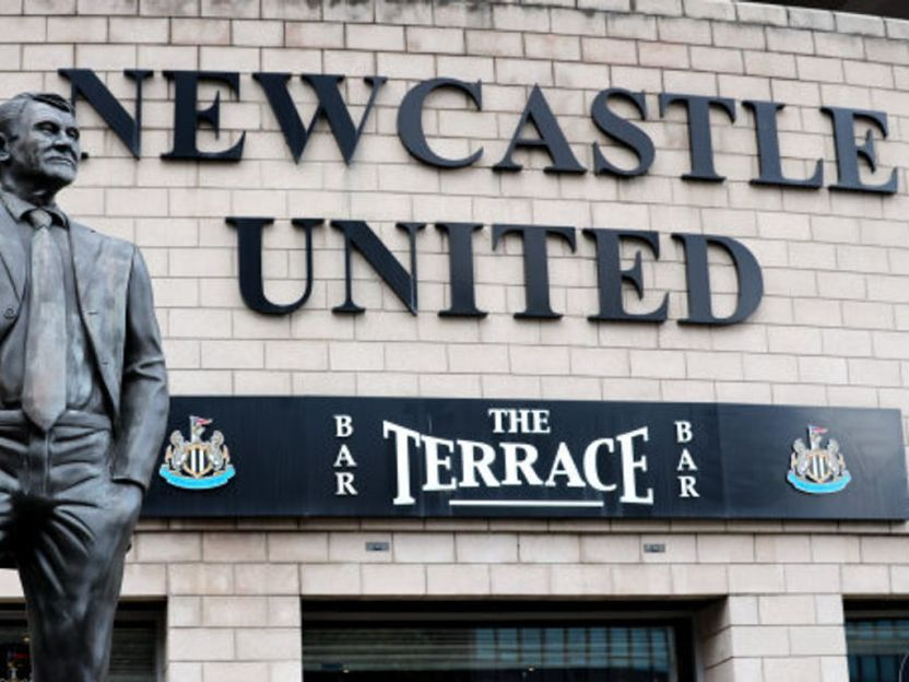 A funny personalised novelty political gift that's unique and perfect for wedding anniversaries, birthdays, secret santa's, christmas presents, leaving gifts. Newcastle takeover completed by Saudi-led consortium