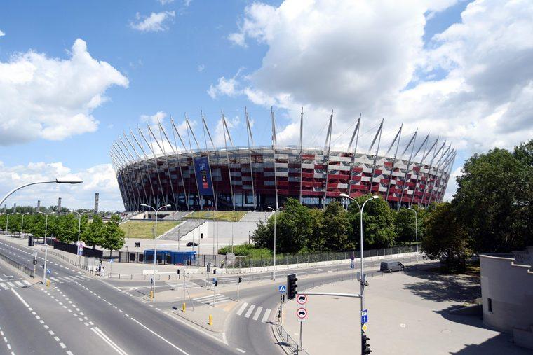 Stadion Narodowy przed szczytem NATO