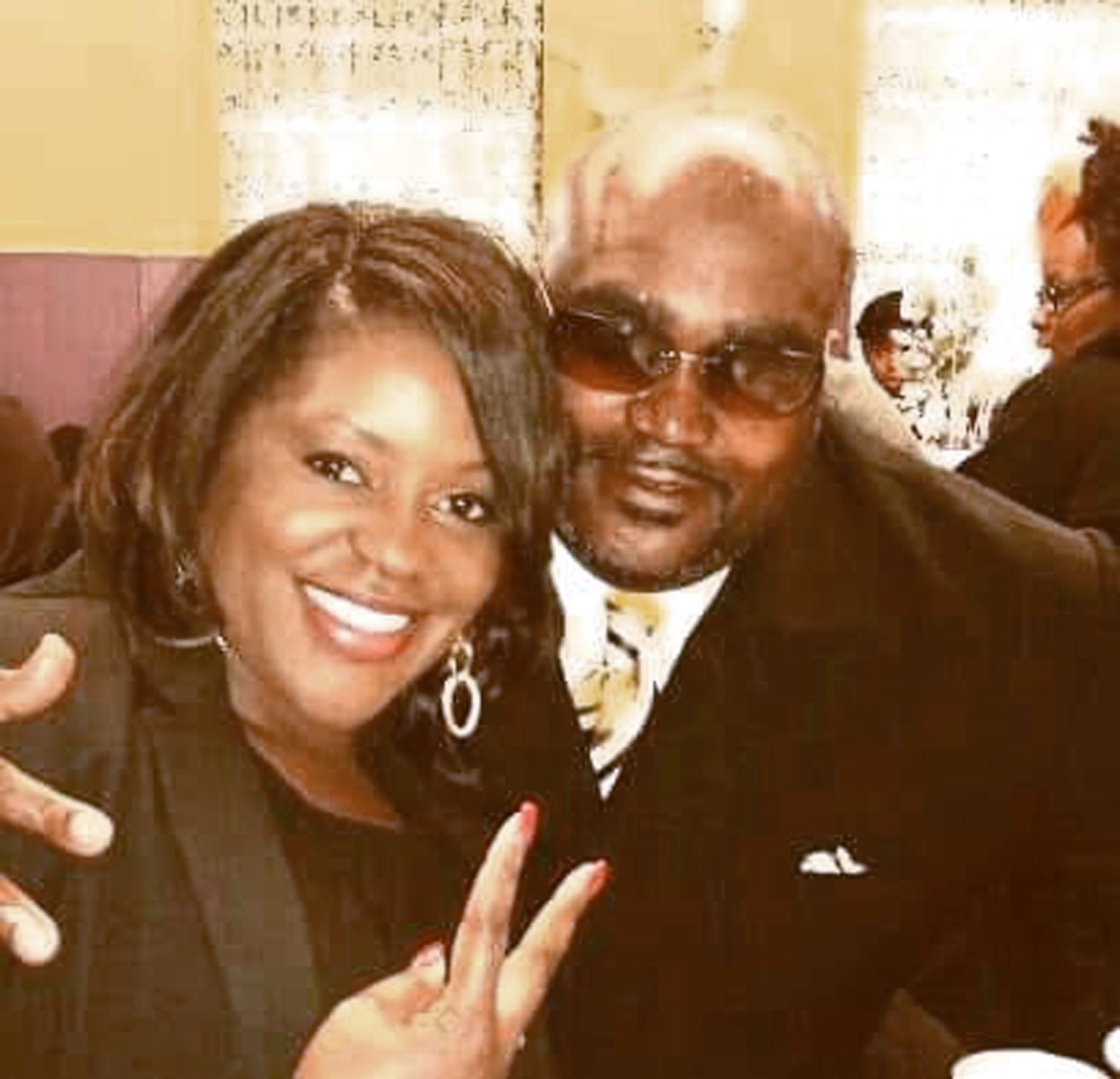 This undated photo provided by the Parks & Crump, LLC shows Terence Crutcher, right, with his twin sister Tiffany. Crutcher, an unarmed black man was killed by a white Oklahoma officer Friday, Sept. 16, 2016, who was responding to a stalled vehicle