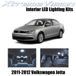 Xtremevision Interior Led For Volkswagen Jetta Golf 2011 2012 12 Pieces Cool White Interior Led Kit Installation Tool