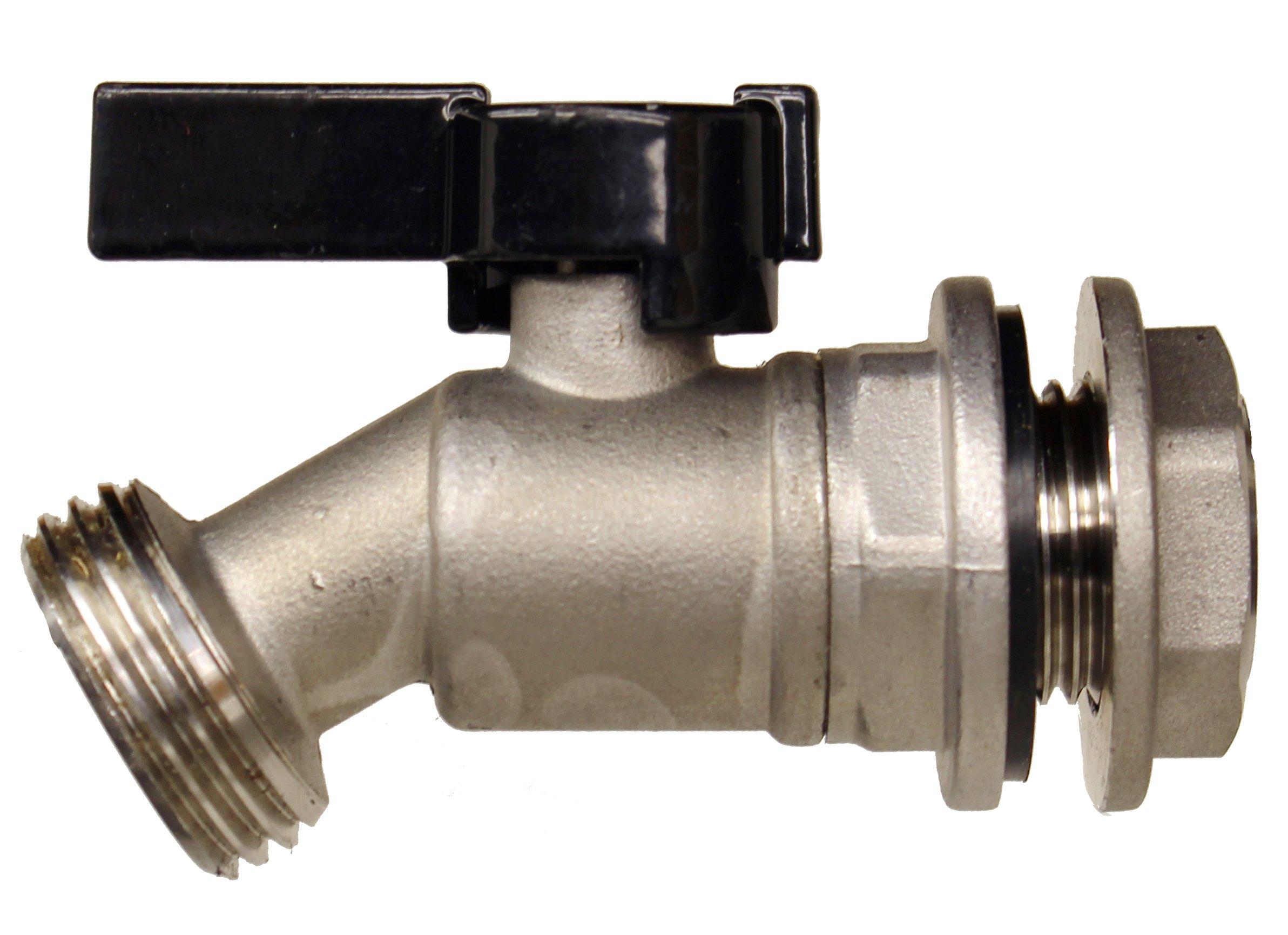 rainpal rbs006 stainless steel rain barrel spigot ball valve quarter turn