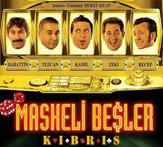 Maskeli Beşler: Kıbrıs (IMDb Puanı: 2,8)