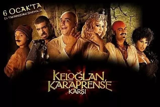 Keloğlan Kara Prens'e Karşı (IMDb Puanı: 1,8)