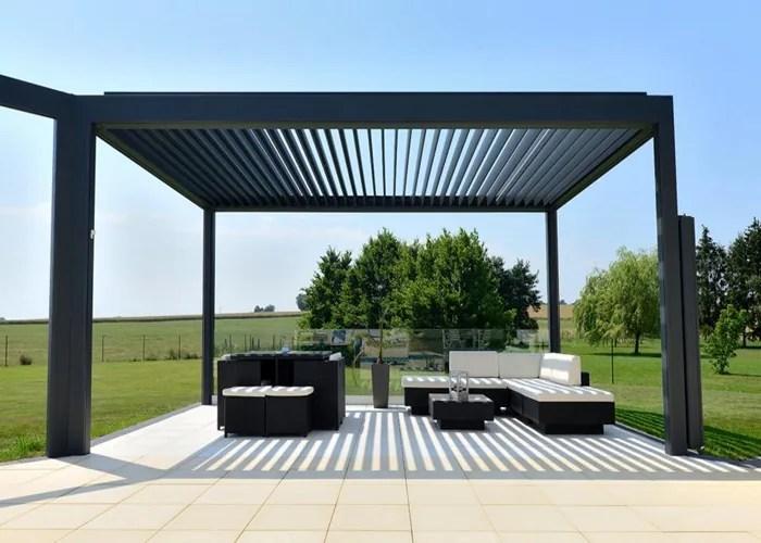 garden awning pergola retractable