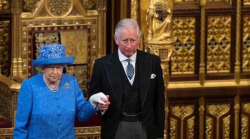 Pangeran Charles dan Ratu Elizabeth