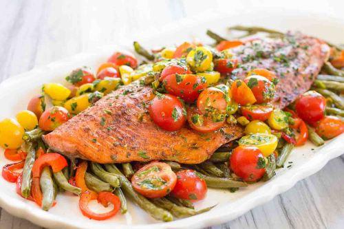 Salmon Tumis Sayuran
